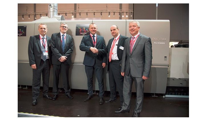 EDC Expert (former Emerson DC) invests in Eastern Europe's first Ricoh Pro™ VC60000