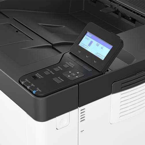 P 501 - Office Printer - Detail View