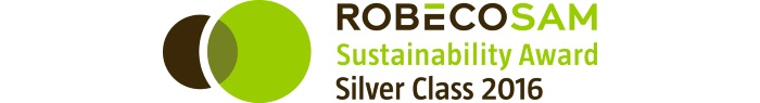 RobecoSAM  Silver Class recognition logo