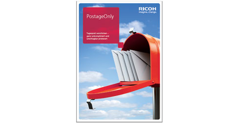 Ricoh PostageOnly Flyer